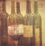Wine Vignette II Art Print