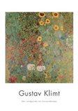 Garden with Sunflowers Art Print