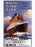 White Star Lines Art Print