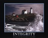 Motivational - Integrity Art Print