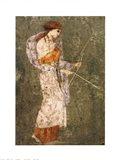 Pompei-Diana Art Print