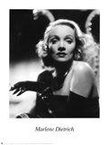 Marlene Dietrich - Black and white Art Print
