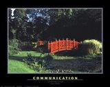 Communication Art Print