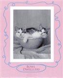 Bowl Dwellers Art Print