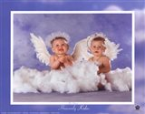 Heavenly Kids 2 Angels Art Print