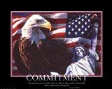 Patriotic-Commitment Art Print