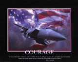 Patriotic-Courage Art Print