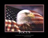 Patriotic-Focus Art Print