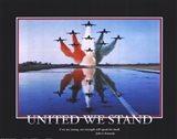 Patriotic-United We Stand Art Print