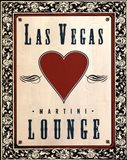 Martini Lounge Art Print