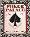 Poker Palace Art Print