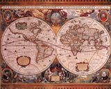 Map - Geographica Art Print
