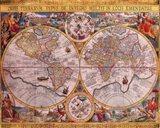 Map - Orbis Terrarum Art Print