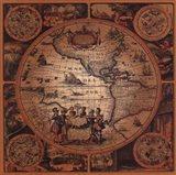 Map - Cartographica 2 Art Print