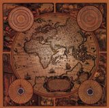 Map - Cartographica 1 Art Print