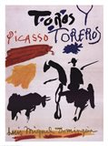Toros Y Toreros Art Print