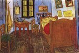 The Bedroom at Arles, c.1887 Art Print