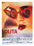 Lolita Heart Sunglasses Art Print