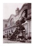 Gare Montparnasse Art Print