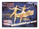 Broadway - Qui Danse Art Print