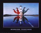 Working Together Art Print