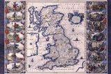 Map - Britannia Art Print
