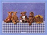 Teddy Bears #2 Art Print