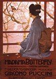 Pucini-Madama Butterfly Art Print