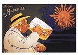 Maxeville Beer Art Print