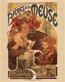Bieres De La Meuse Art Print
