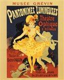 Pantomines Lumineuses Art Print