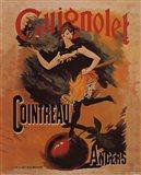 Guignolet Cointreau Art Print