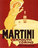 Martini Vermouth Torino Art Print