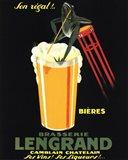 Brasserie Lengrand Art Print