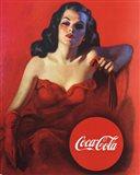 Coca-Cola Model Art Print