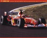 Ferrari F1-2003-Ga Art Print