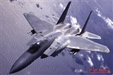 Airplane F-15 Eagle Art Print