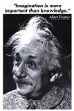 Einstein - Imagination Art Print