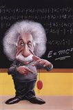 Einstein-E=Mc2 Art Print