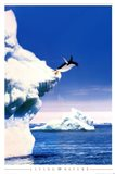 Penguin Flight Art Print