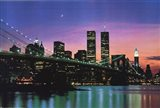 New York at Night Art Print