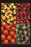 Fruits the Colours of Nature Art Print