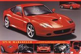 Ferrari 575 Art Print