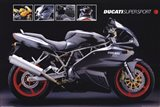 Motorcycle Ducati Super Sport Art Print