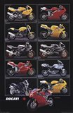 Motorcycle-Ducati Art Print