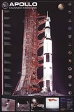 Apollo 11 Manned Mission Art Print