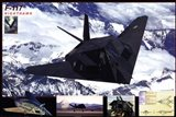 Airplane F-117 Nighthawk Art Print