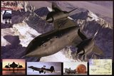 Airplane Blackbird Sr-71 Art Print