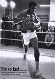 Mohammed Ali Training Art Print