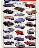 American Cars Art Print